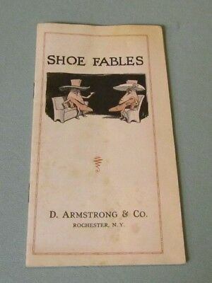 WWI Era Armstrong Shoe Company Shoe Fables and Style Catalog Rochester NY 16pg