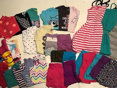 WOW! VEUC Lot of 30 Size 6, 6/7 Summer Clothes! Old Navy, Gymboree, Gap! WOW!