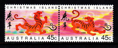 Christmas Island 1998 Year of the Tiger  MNH