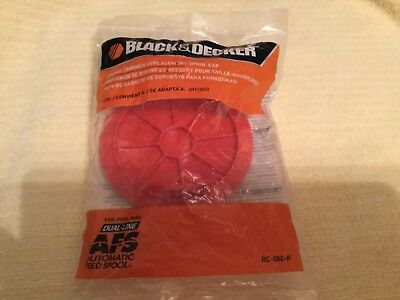 Black and Decker Brand  Replacement Spool Cap # RC-080-P New in Unopened Package