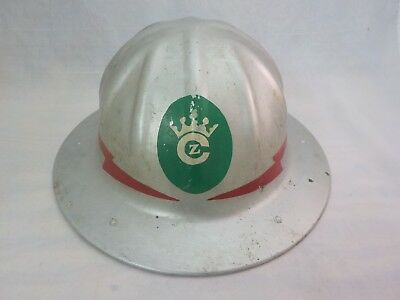 Vintage Antique BF B.F. McDonald Aluminum Safety Hard Hat in Very Good Condition