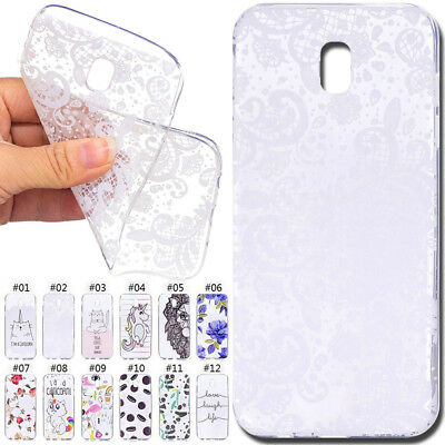 Clear Soft TPU Slim Silicone Case Cover For Samsung Galaxy J5(2017) EU Version