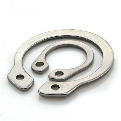Ф3-4-5-6-8-26 External Retaining Ring Circlip Snap Ring A2 304 Stainless Steel