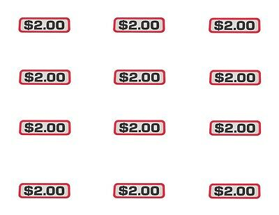 12 Pack - 00-9104-26 - COIN SLIDE DECAL $2.00 GREENWALD - All Laundry Brands