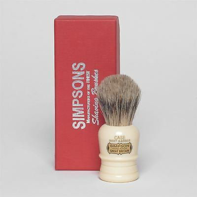 Simpsons 'Case' Best Badger Hair Shaving Brush