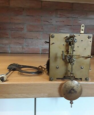 vintage clock movement,for spear or repair