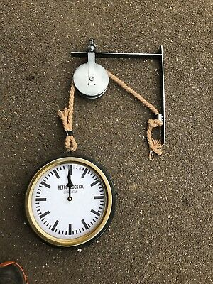 Vintage Style Station/Hanging Wall Clock