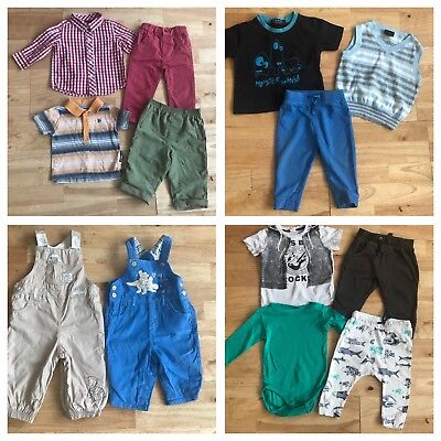Bundle Baby Boys Clothes 6 9 Months Next Gap Dungarees Outfits