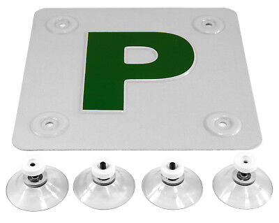 PRESSED METAL (Al) P PLATE CAR FOR ALL SURFACES INCLUDING GLASS, METAL, PLASTIC