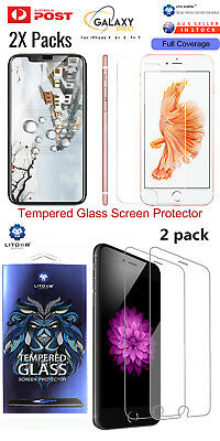 Apple iPhone X / 8 / 7 Plus 9H 2.5D Premium Tempered Glass Screen Protector