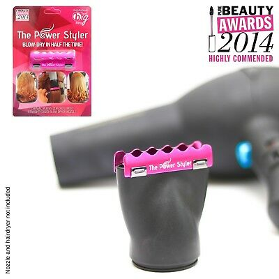 The Power Styler ceramic attachment PINK - Clearance Stock
