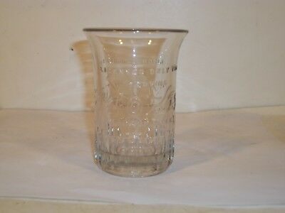 """Vintage Moxie """"Licensed Only For Moxie"""" Drinking Glass 4 Inch Lot 1"""