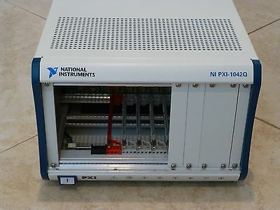 National Instruments NI PXI-1042Q Chassis / 8-Slot PXI Mainframe