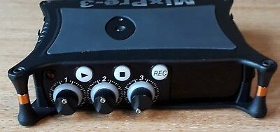 Sound Devices MixPre 3 Audio Recorder with batteries, charger & field case, new