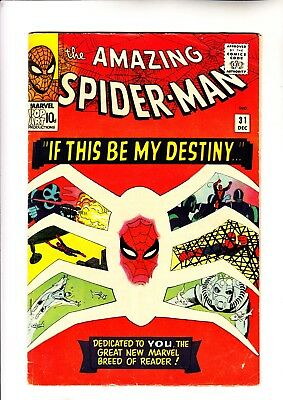 Amazing Spider-Man 31 1st app of Gwen Stacy and Harry Osborn