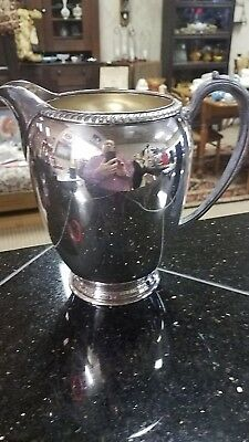 Fiesta Oneida Silverplate Pitcher