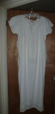 Past Times pure cotton Victorian style nightdress Size L