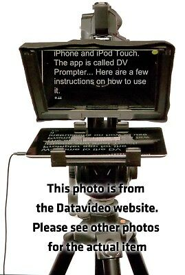 Datavideo TP-300 Autocue-style Teleprompter with HC-300 hard case