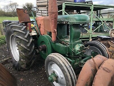 Field Marshall Tractor Series 2 ready for Restoration