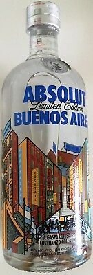 Absolut Vodka - Buenos Aires 750 ml Argentinien - Limited Edition Versiegelt SC