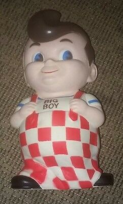Frisch's/Bob's/Elias Big Boy Bank Niagara Plastic Made in Erie, Pa USA in 1970's