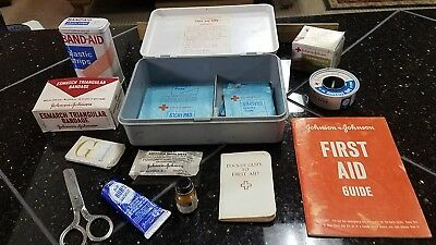 Vintage Boy Scouts Official First Aid Kit By Johnson & Johnson
