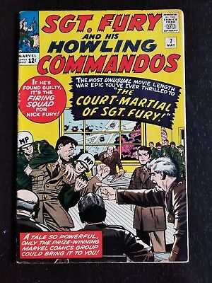 Sgt. Fury And His Howling Commandos #7 (May 1964, Marvel)