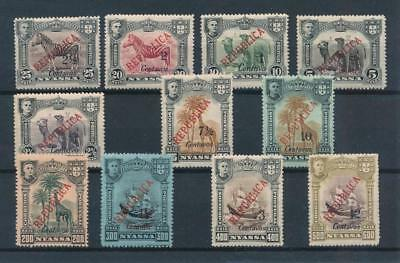 [35286] Nyassa Good lot Very Fine MH stamps