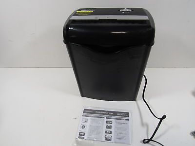 6-Sheet Cross-Cut Paper and Credit Card Shredder AS662C