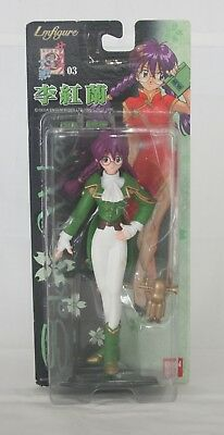 NEW Sakura Wars Li Kouran Toy Figure Bandai SEGA Japan LM-01 LmFigure w/Chibi Ro
