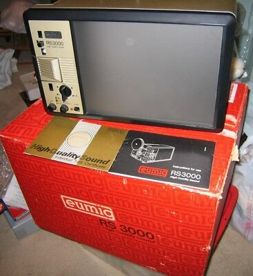 Eumig RS3000 Super 8mm Sound Projector