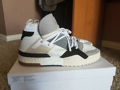 sneakers for cheap 07f8a 70d13 Adidas AW BBALL Alexander Wang High HI WhiteGreyBlack Size 13