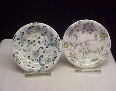 2 Vintage Chintz Style Floral Royal Grafton Butter Pats