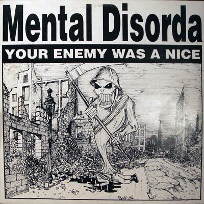 Mental Disorda - Your Enemy Was A Nice Vinyl LP a0110836bb