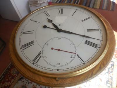 Huge Howard Miller Clock Wall Or Coffee Table Working Electric Pick Up Only