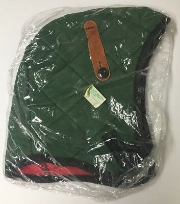 Fire Retardant Fleece Lined Helmet Liner Lab Safety Supply Company Green New USA