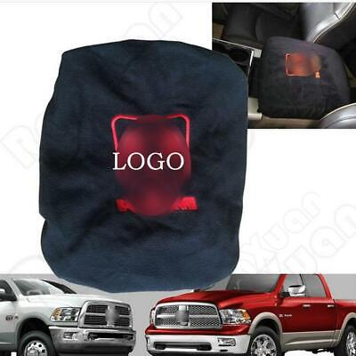Center Console Armrest Soft Pad Protector Cover for 1993-2016 Dodge Ram 1500