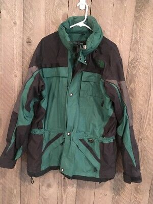 Men's The North Face Vintage  Green Extreme Gear Jacket Size XL