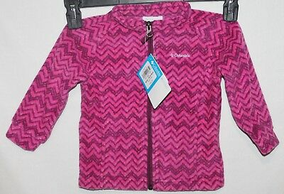 Columbia Benton Springs II Fleece Jacket Girls 18-24 Months New with Tags