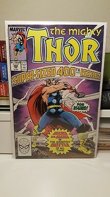 Thor #400.      (Nm- Nm)   ~God Vs. God~   First Print.    1989