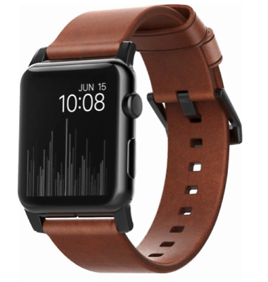 NOMAD Modern Strap - Apple Watch Series 1, 2 & 3 / BROWN LEATHER / 42mm / $59.99