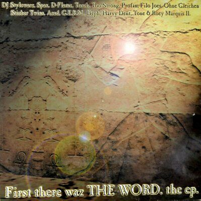 """Roey Marquis II - First There Waz The Word Vinyl 12"""" EP a0110527dd Torch Azad"""