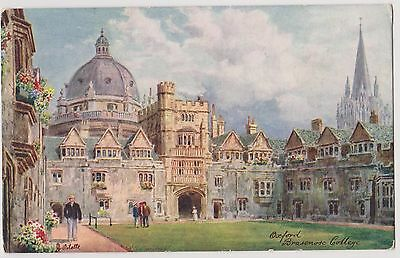 "Vintage ""Oilette"" Postcard Picturesque Oxford Rapheal Tuck & Sons"