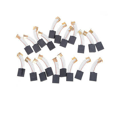 20pcs 6x16x20mm Carbon Brushes Repairing Part Generic Electric Motor GY