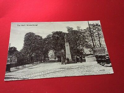 The Mall ,musselburgh, Lothian Vintage Postcard