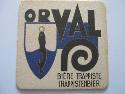 S-B coasters bierdeckel  ORVAL 10/10 mm ECRITURE FINE