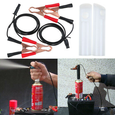 Universal Auto Car Vehicles Fuel Injector Flush Cleaner Adapter DIY Tool Kit