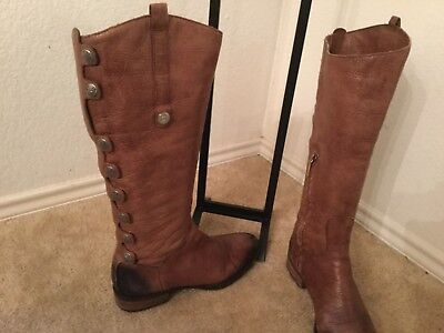 2ea105c6210 SAM EDELMAN PIERCE Over The Knee Riding Brown Boot Women US 9 ...