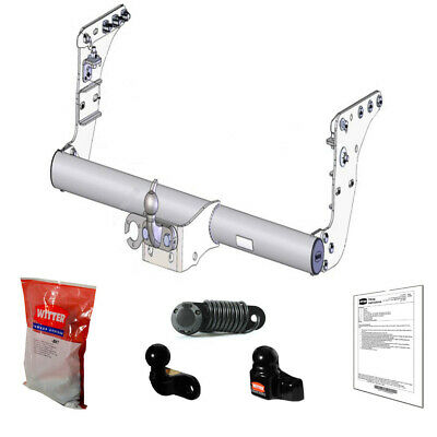 Witter Towbar for Mitsubishi L200 Double Cab 2015 Onwards - Flange Tow Bar