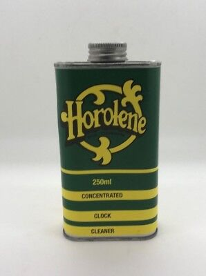 Horolene Concentrate Clock Cleaner Solution/Clean/Ammoniated/Cleaning/ 250ml